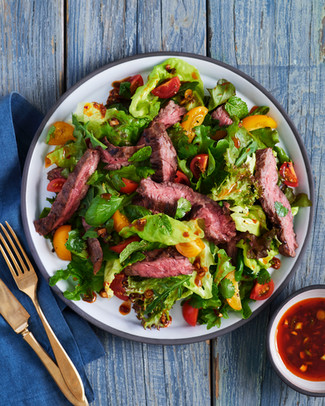Steak Salad, Fine Cooking Magazine 2020