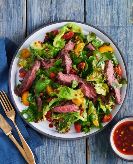 Steak Salad, Fine Cooking Magazine 2020