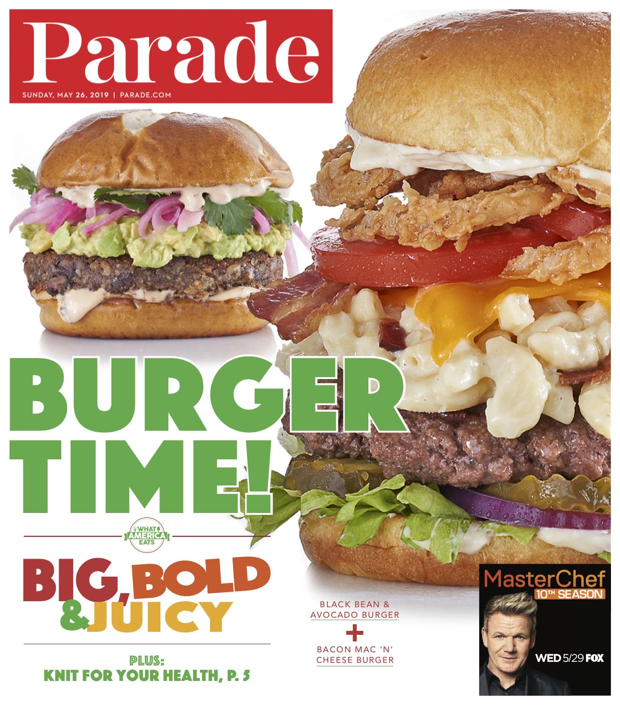 Burger Cover, Parade 2019