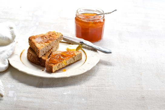 Homemade Jam and Toast