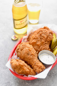 Fried Chicken with Miller