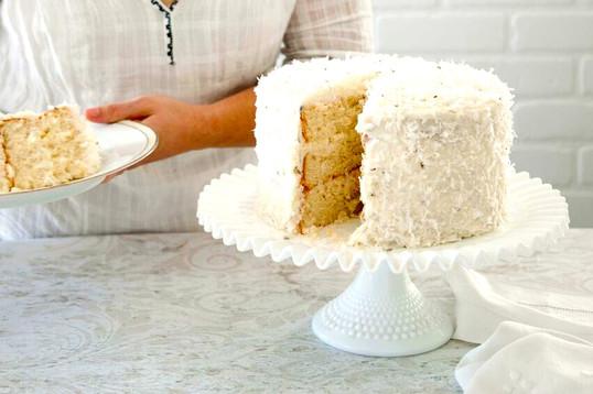 Coconut Cake Three Layers