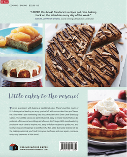 Everyday Little Cakes Back Cover