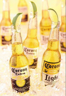 Icy Corona Bottles