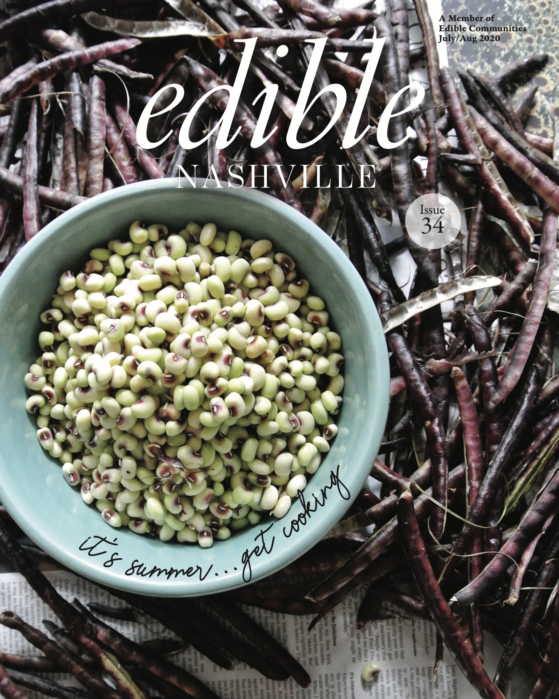 Edible Magazine, Cover Sept