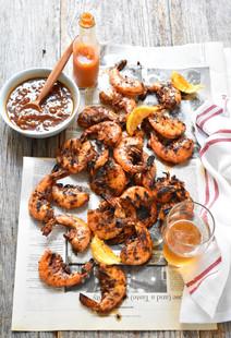 Peel & Eat Grilled Shrimp, Parade Magazine