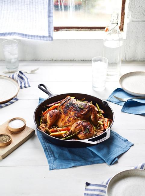 Roasted Hen