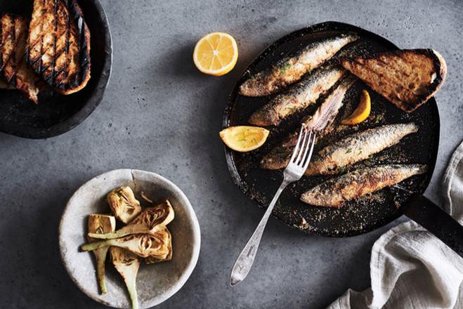 Sardines...eaten