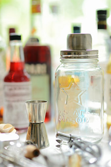 Cocktail shaker and tools