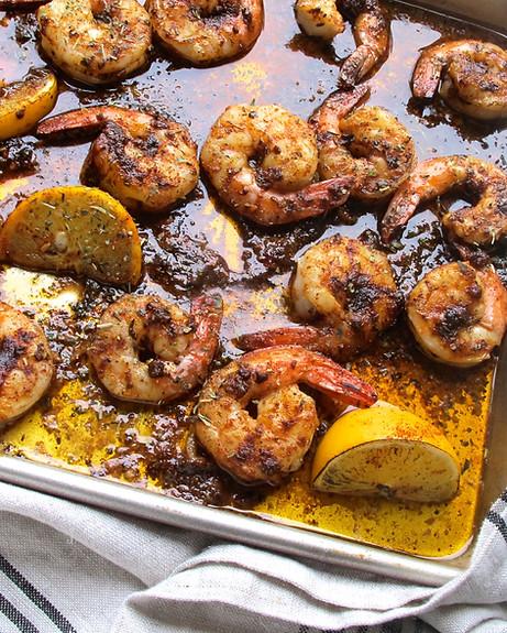 Shrimp Roasted