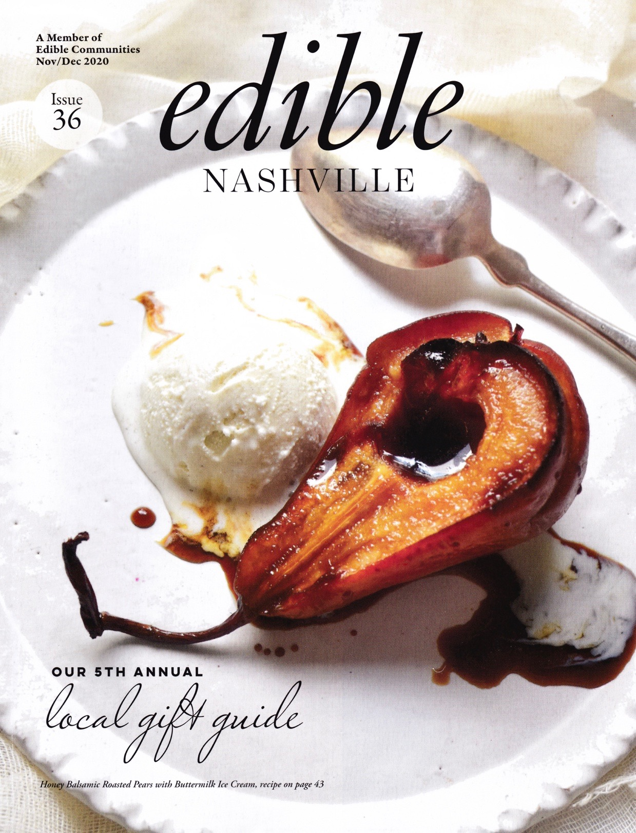 NovDec2020 Edible Cover