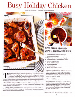 Roast BBQ Chicken Edible Mag
