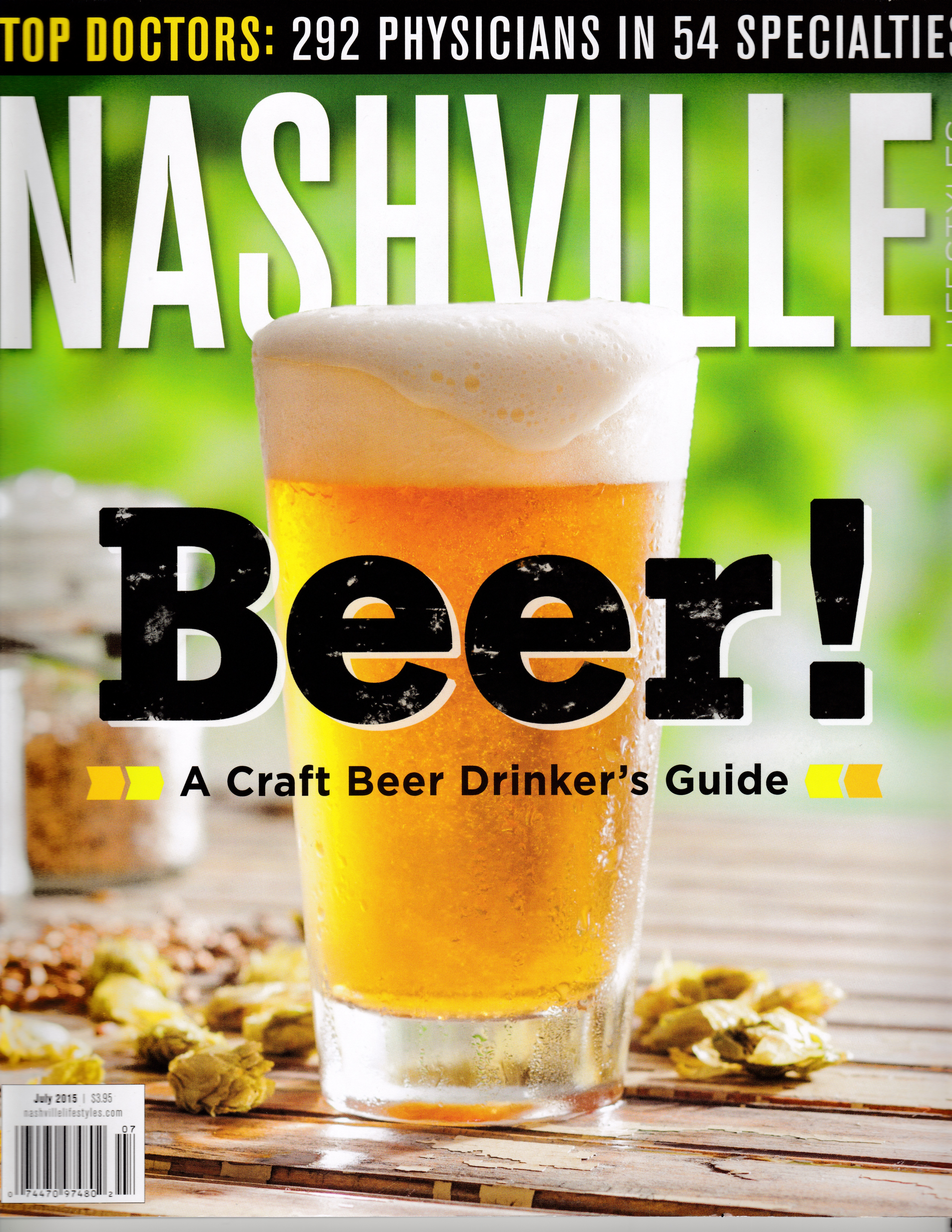 Glass of Beer Nashville Mag