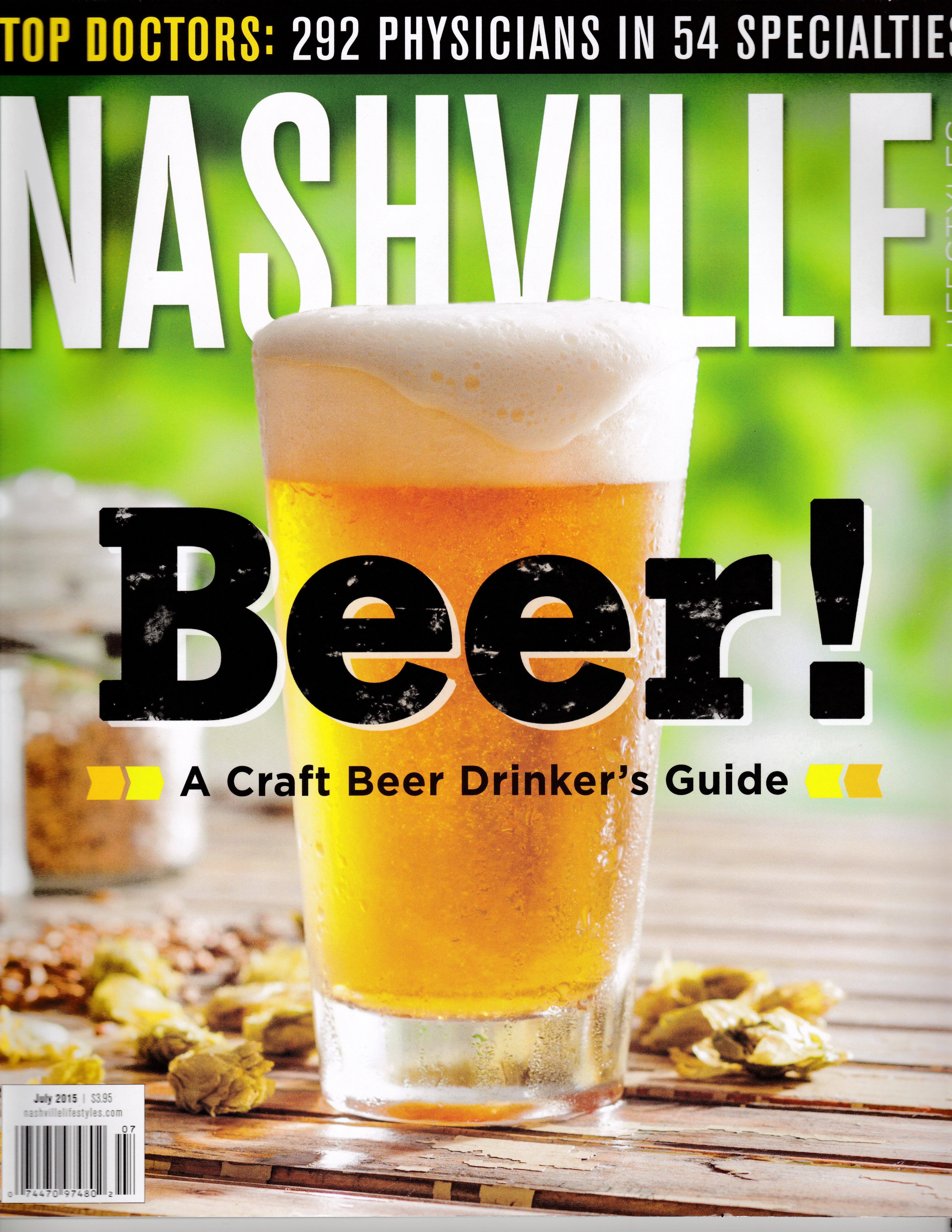 Glass of Beer Nashville Mag