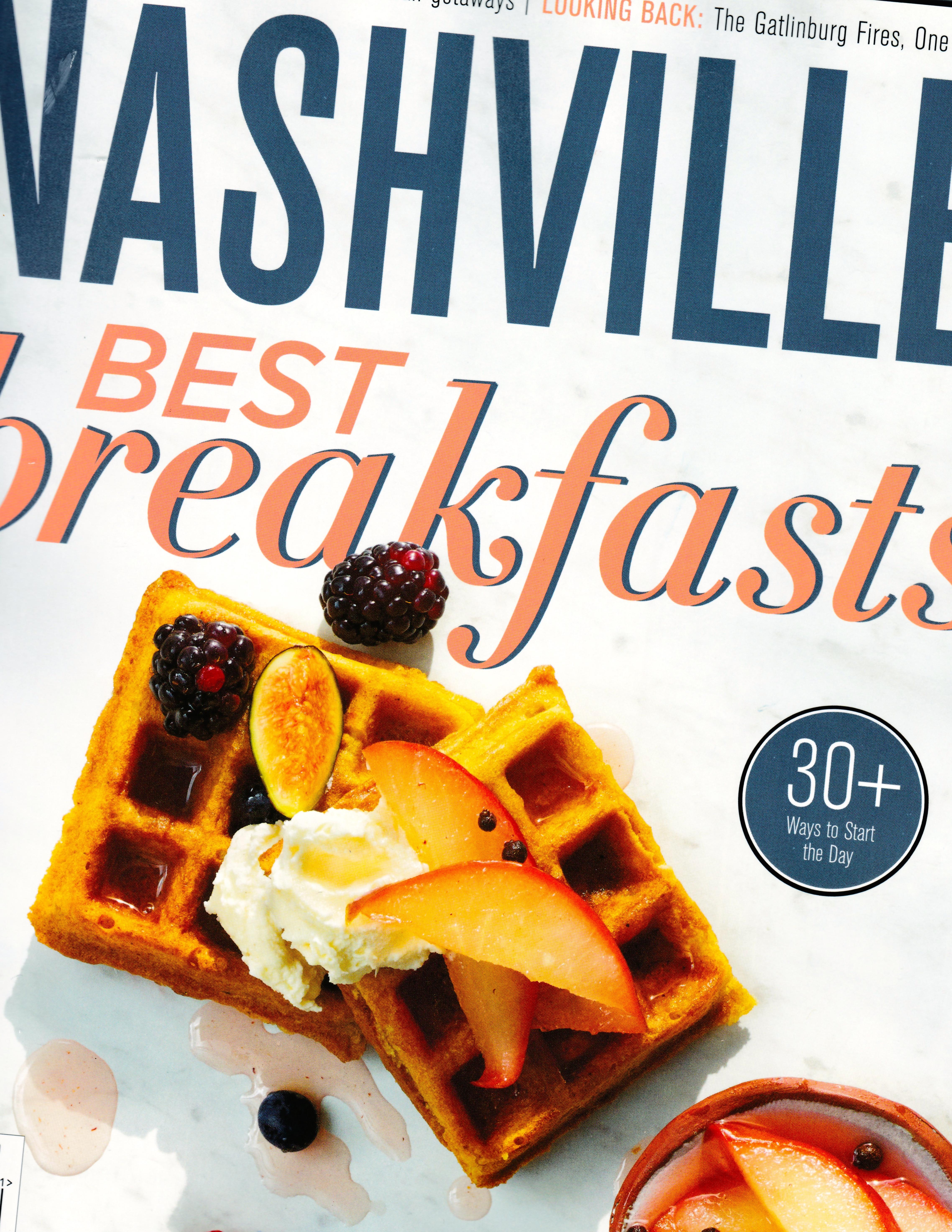 Waffles and Fruit Nashville Magazine