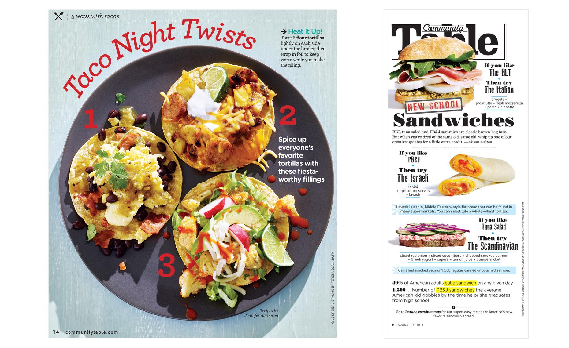 Tacos Parade Magazine