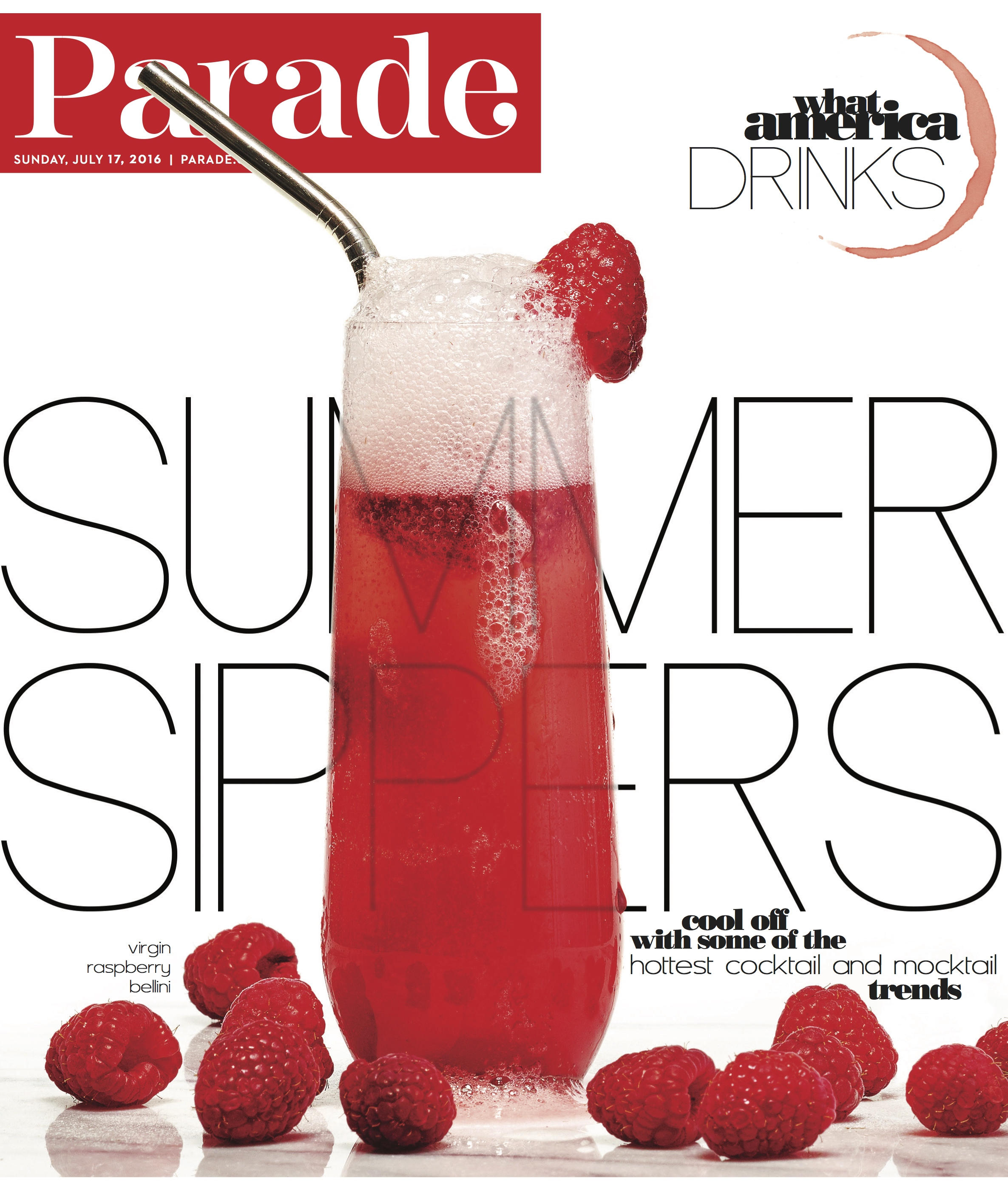 Summer Cocktails Parade Magazine