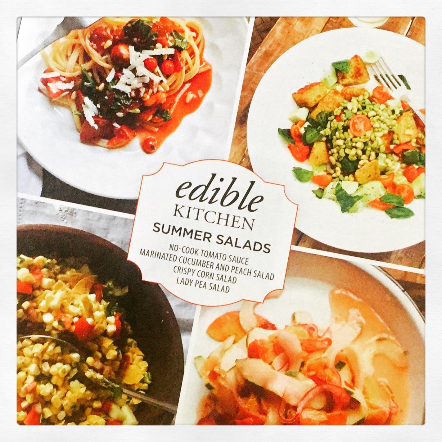 Summer Salads Edible Mag