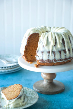 Bundt Cake with Fabulous Frosting