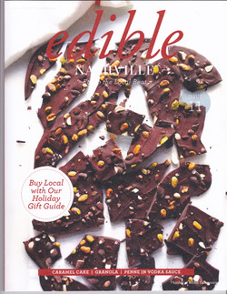 Chocolate Bark Candy Edible Mag