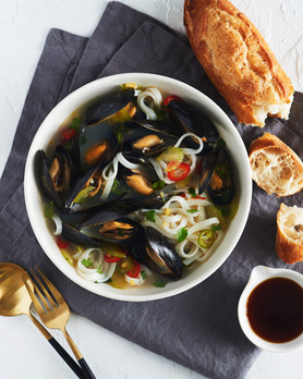 Steamed Mussels, Fine Cooking Magazine 2020
