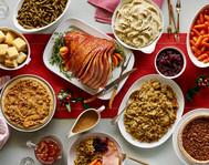 Spiral Ham Dinner table