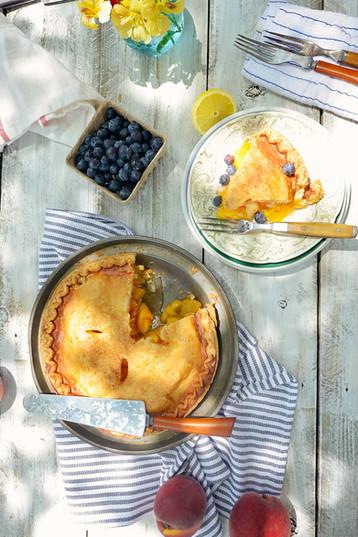 Peach Pie Outdoor Table Picnic