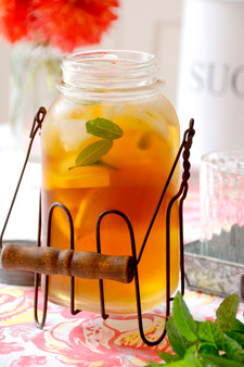 Ice Tea Antique Jar