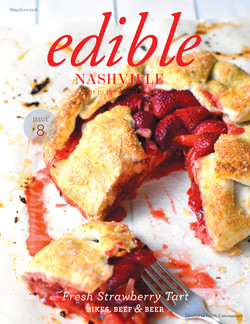Strawberry Tart Edible Mag