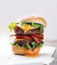 Burger Egg Yolk
