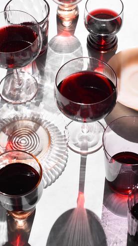Red Wine Swirling