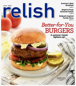 Relish Mag July 2021Turkey BurgerCover