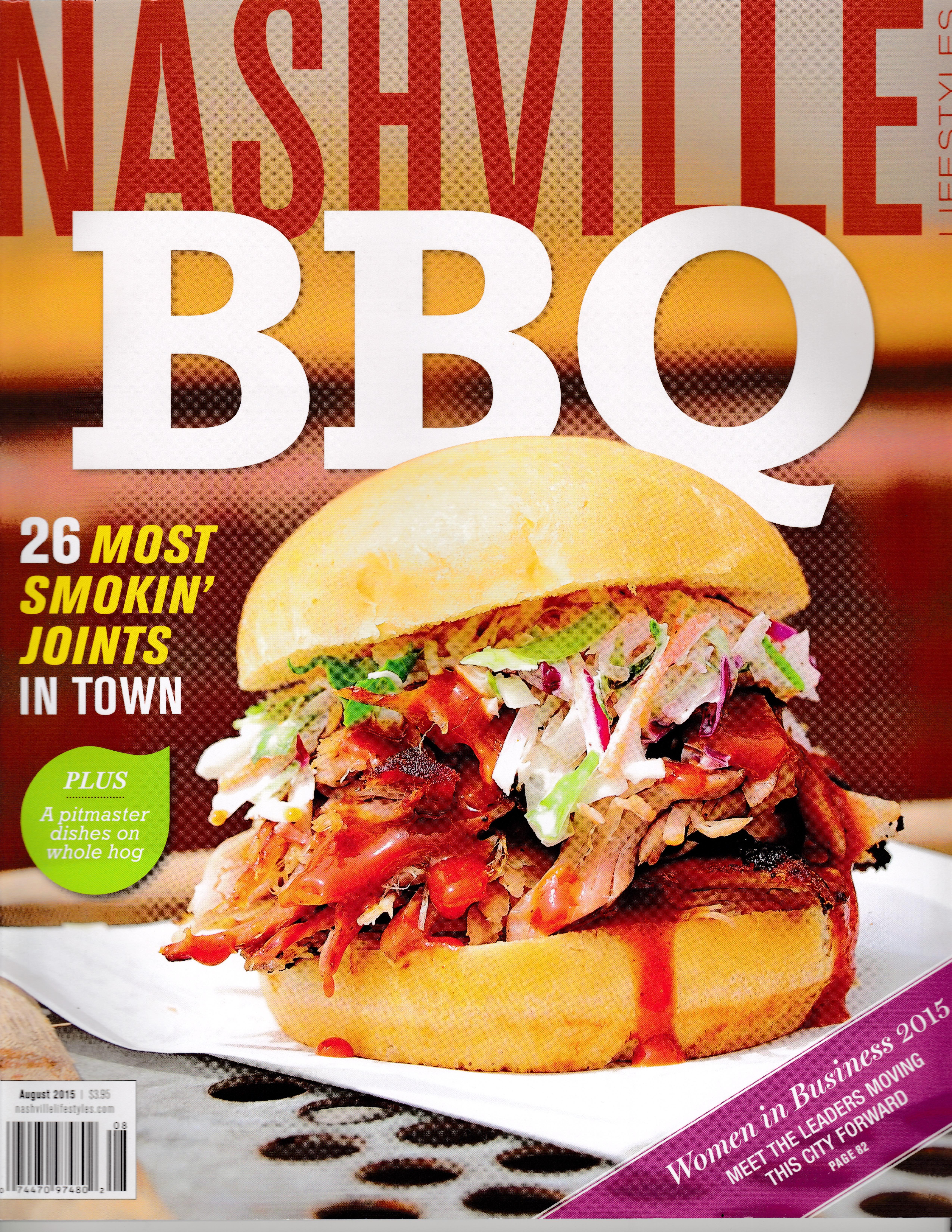 BBQ Sandwich Nashville Mag