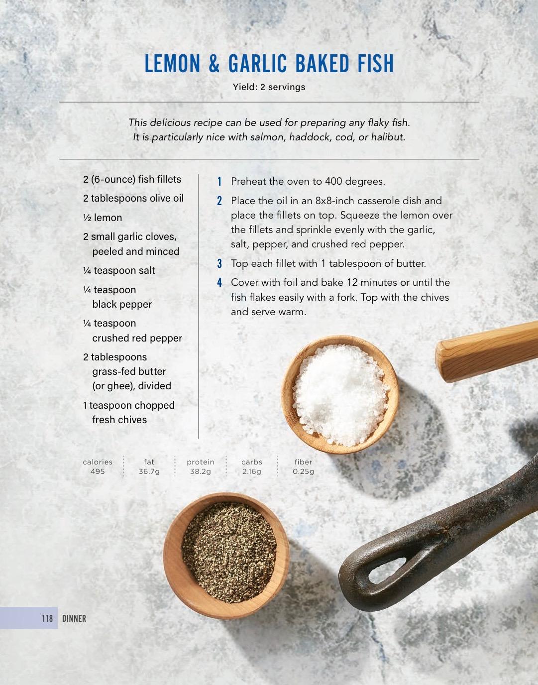 Keto Fish Recipe