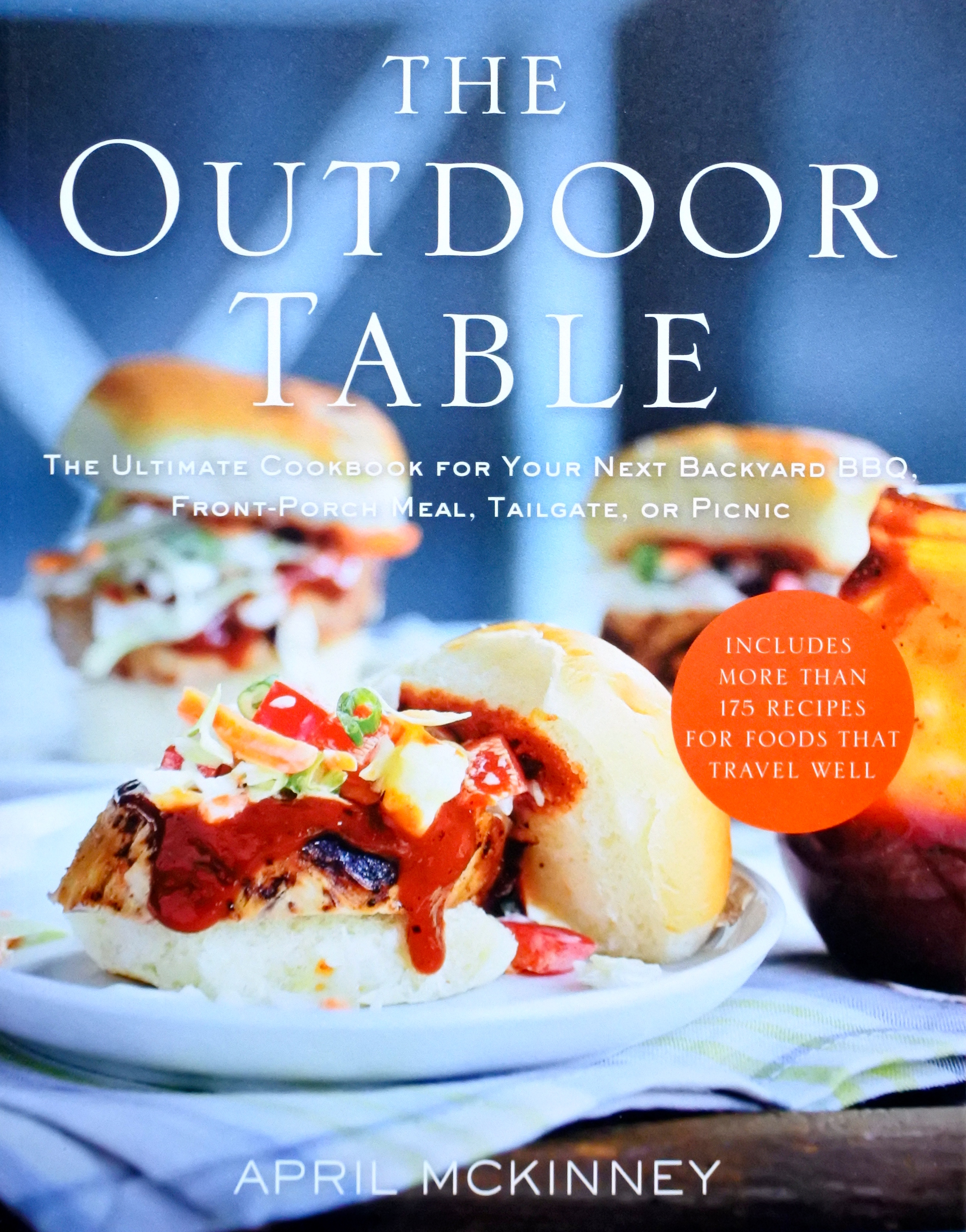 Cookbook cover with Sliders