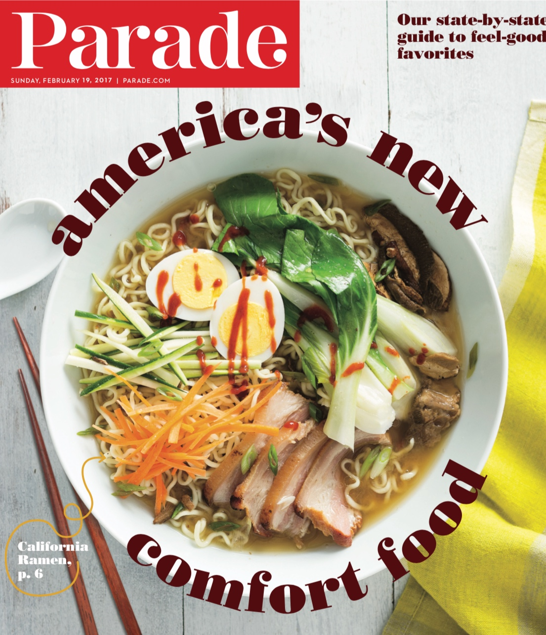 Pho Soup Parade Magazine