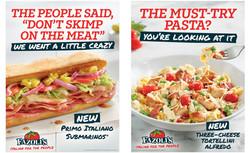 Sub Sandwich Fazolis