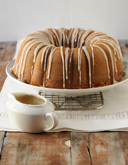Bundt Cake with Drizzle