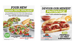 Salads Fazolis Menu