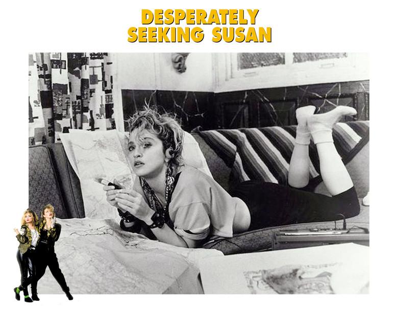 FASHION ON SCREEN: Desperately Seeking Susan (1985)