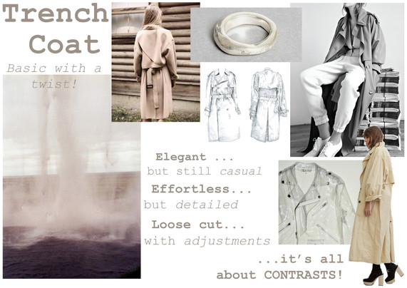 ARCHIVES Anaïs Abrams - Trench Coat FW 15-16