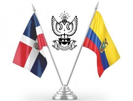SCG33RD envía mensaje fraterno y solidario a la masonería escocesa ecuatoriana.