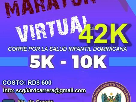 SCG33RD lanza su primera carrera virtual por la salud infantil dominicana.