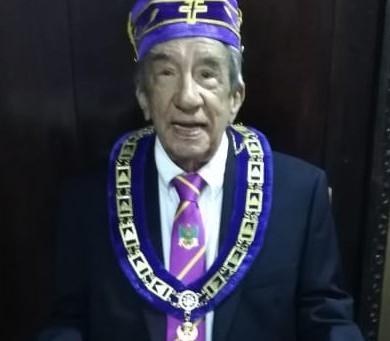 SCG33RD destaca trayectoria del I∴P∴H∴ Luis José Soto Martínez (1929-2020)