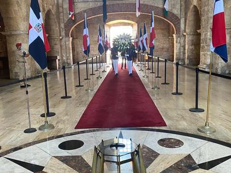 SCG33RD rinde homenaje a sus fundadores en el Panteón de la Patria.