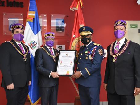 SCG33RD reconoce al Cuerpo de Bomberos del Distrito Nacional