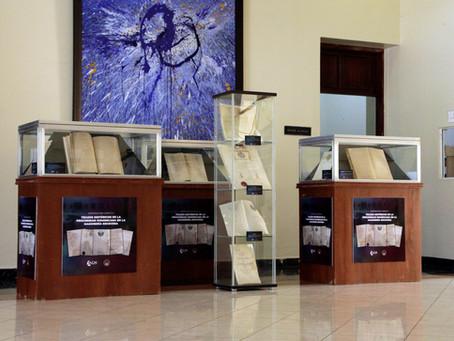 AGN y SCG33RD inauguran exposición de documentos sobre la Masonería Escocesa.