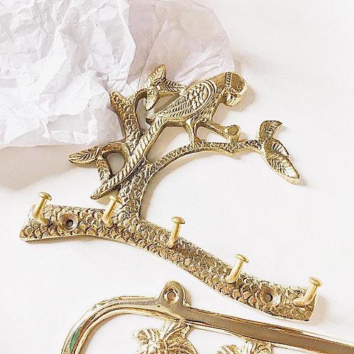 Parrot hook brass (5 hooks)