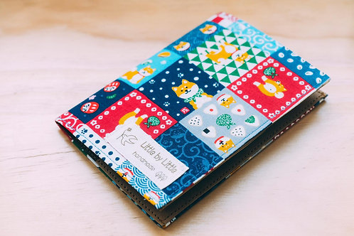 日本布配洗水牛皮紙 Passport套