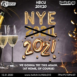 NYE 2021!